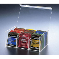 THO 606 pleksi çay takdim kutusu..