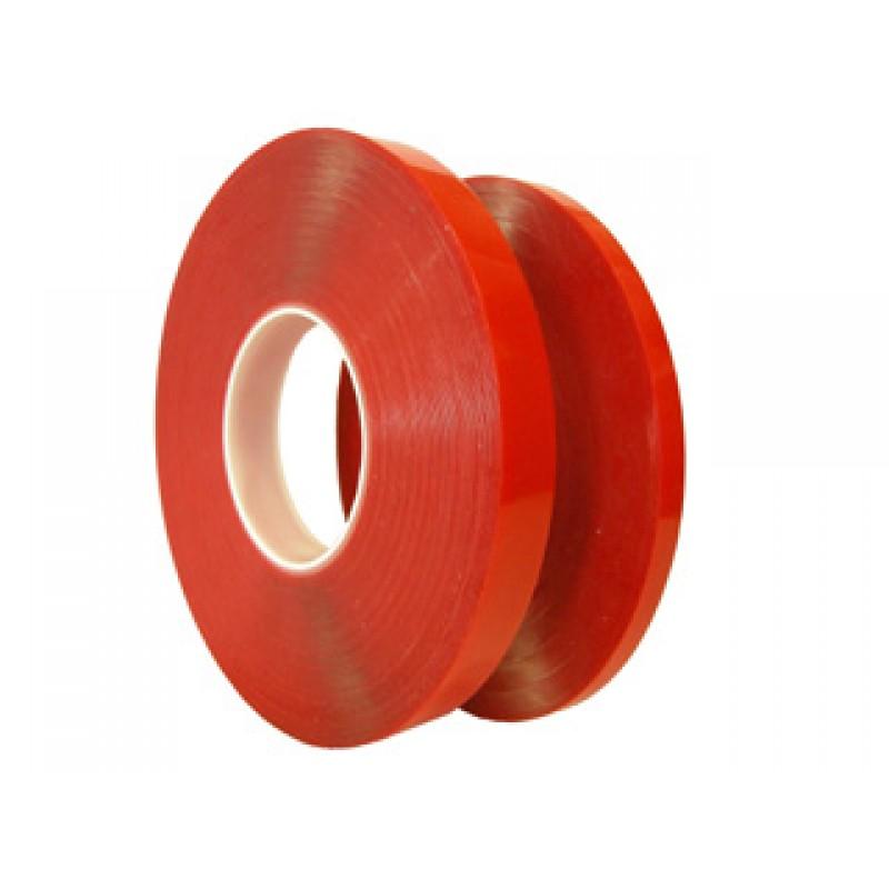 Çift Taraflı Şeffaf Polyester Bant - 8 mm 22 micron 50 metre