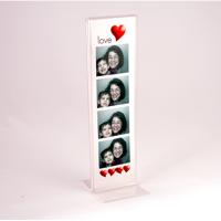 Sale TD (10,5 x 29,7 cm) dikey çift taraflı pleksi föylük..