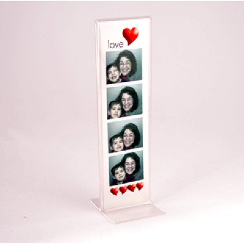Sale TD (10,5 x 29,7 cm) dikey çift taraflı pleksi föylük