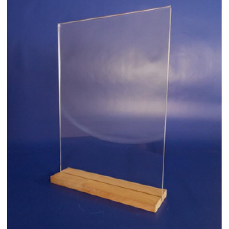 A3 Ahşap Ayaklı Dikey Föylük (30 x 42 cm)