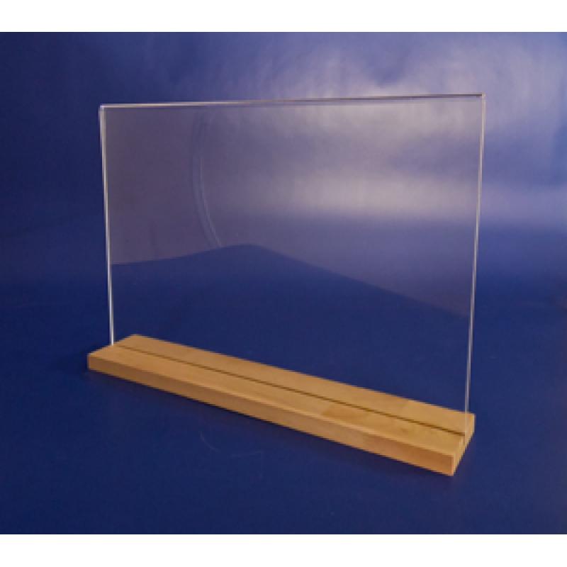 A3 Ahşap Ayaklı Yatay Föylük (42 x 30 cm)