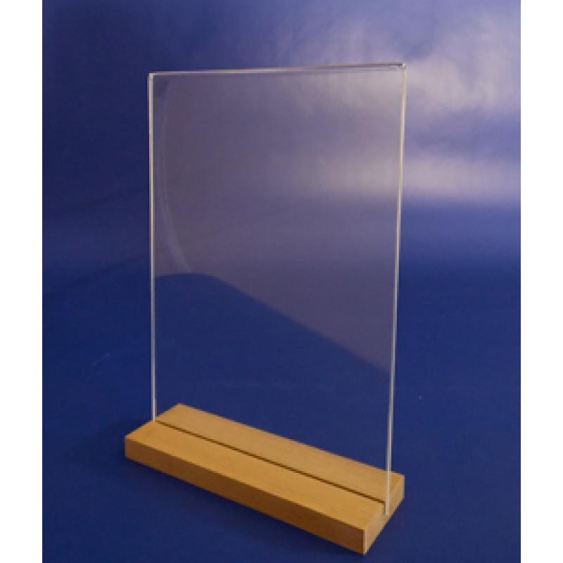 A4 Ahşap Ayaklı Dikey Föylük  (21 x 30 cm)