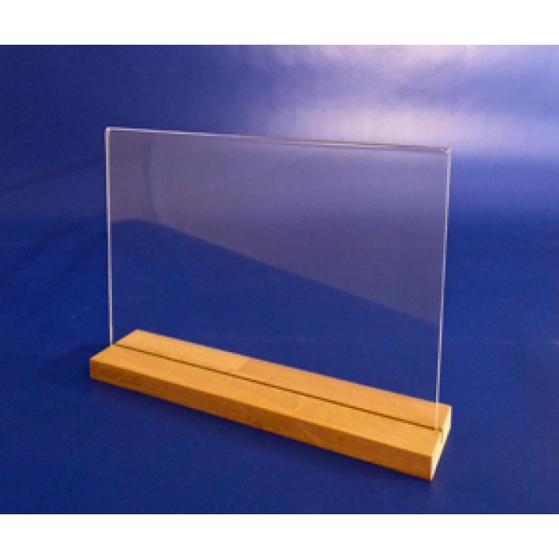 A4 Ahşap Ayaklı Yatay Föylük (30 x 21 cm)