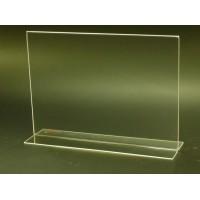 A4 TY (21x29,7 cm) yatay çift taraflı pleksi föylük