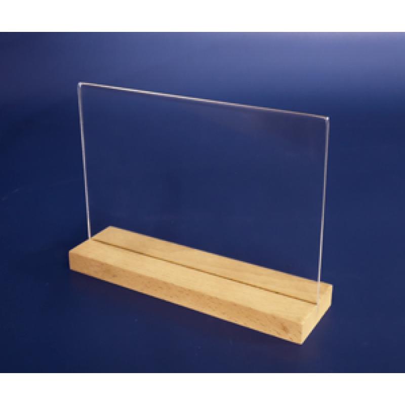 A5 Ahşap Ayaklı Yatay Föylük (21 x 15 cm)