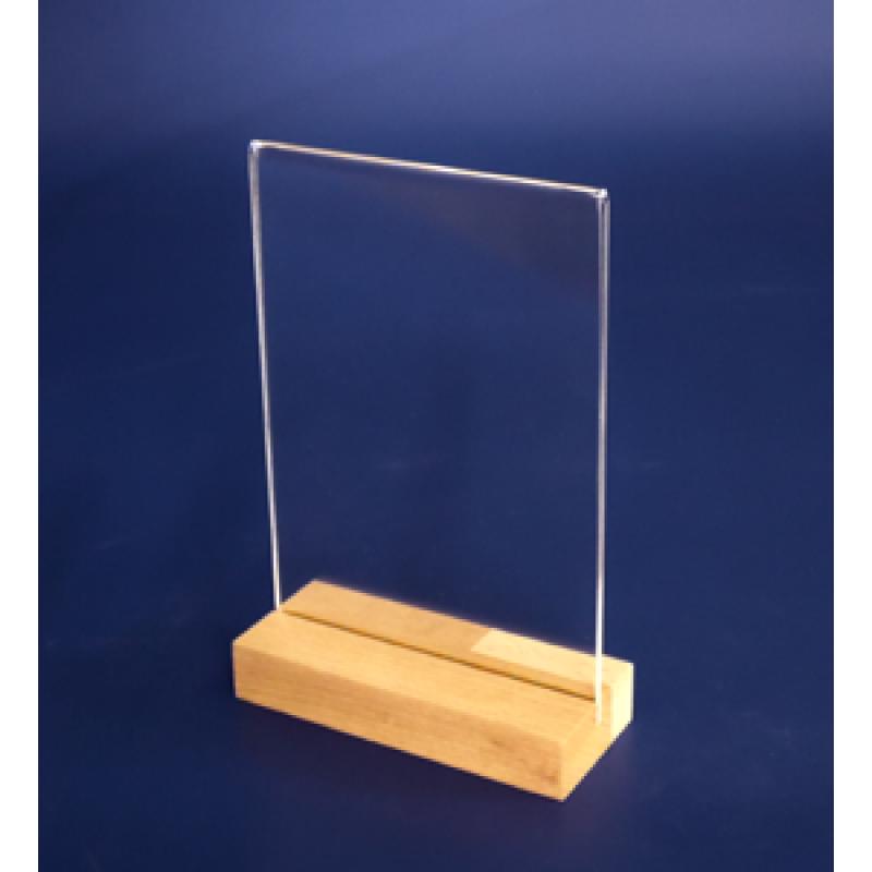 A6 Ahşap Ayaklı Dikey Föylük (10,5 x 15 cm)