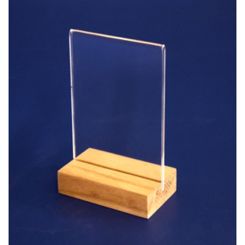 A7 Ahşap Ayaklı Dikey Föylük (7,4x10,5 cm)