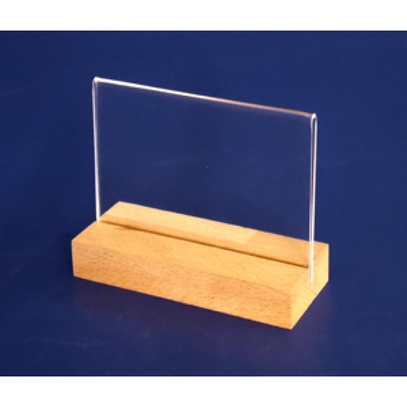 A7 Ahşap Ayaklı Yatay Föylük (10,5 x 7,5 cm) yatay ahşap ayaklı föylük