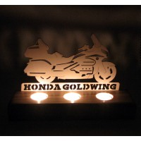 B&D Ahşap Tealight Mumluk Goldwing..