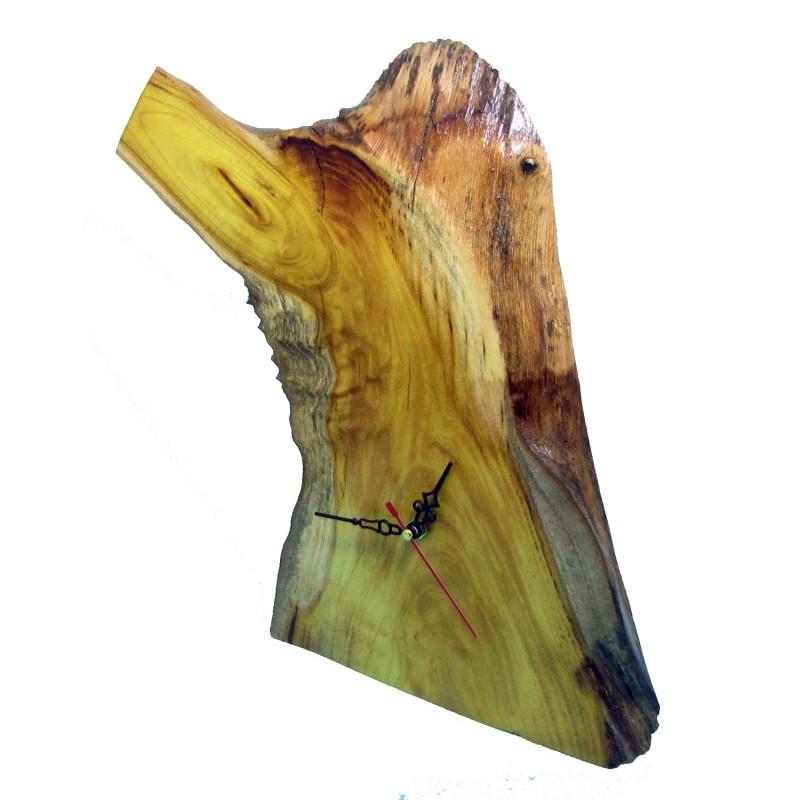 B&D Masif Limon Ağacı Masa & Duvar Saati 34x34cm