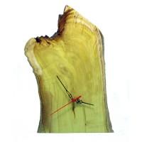 B&D Masif Limon Ağacı Masa & Duvar Saati 22x36cm..