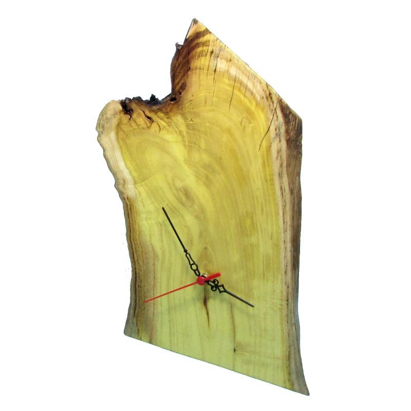 B&D Masif Limon Ağacı Masa & Duvar Saati 22x36cm
