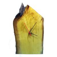 B&D Masif Limon Ağacı Masa & Duvar Saati 21x35cm..