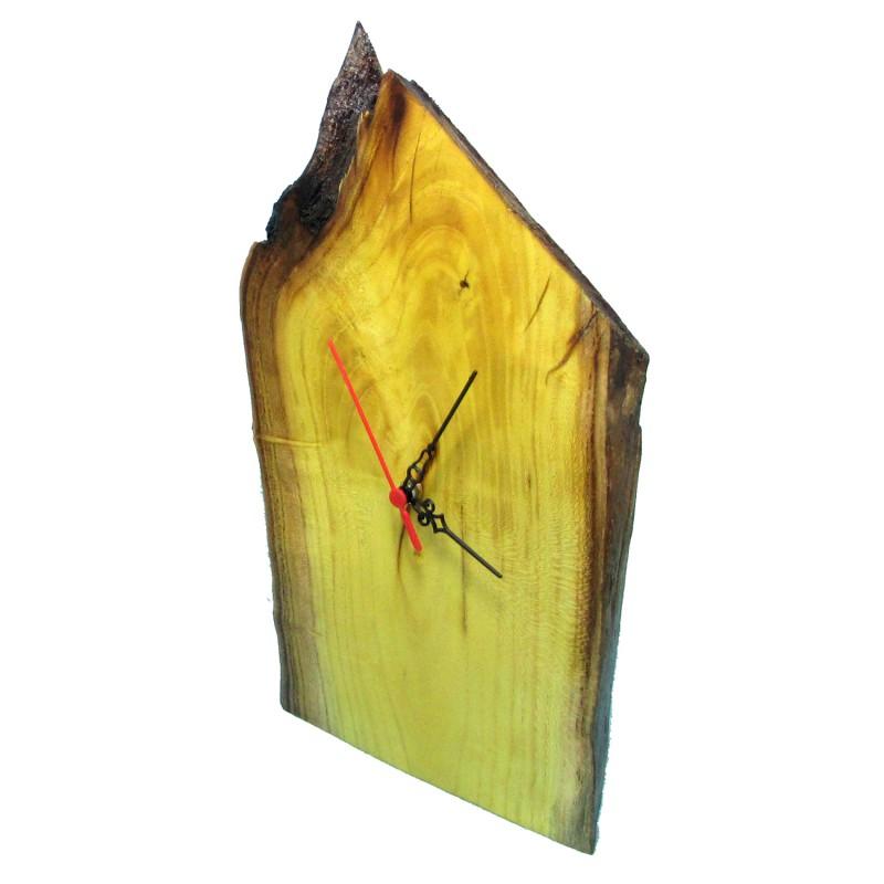 B&D Masif Limon Ağacı Masa & Duvar Saati 21x35cm