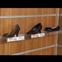 Kanallı pano ayakkabı rafı fiyatlıklı 255x115x40 m..