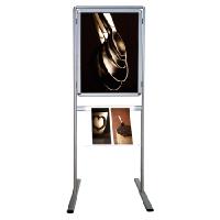 APC 570 Ayaklı çift yüz 50x70 poster pano