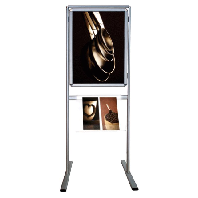 APC 710 Ayaklı tek yüz 70x100 poster pano