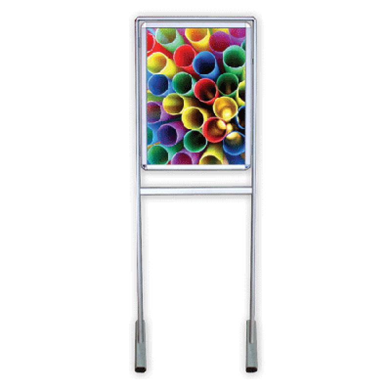 APT 570 Ayaklı tek yüz 50x70 poster pano