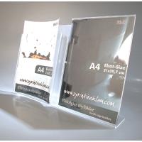 BM 3 A4 pleksi föylük ve A4 broşürlük kombinesi..