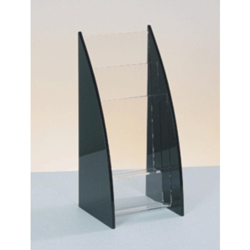 BRA 12 Masa üstü 3 x 1/3 A4 pleksi broşürlük (3 katlı)