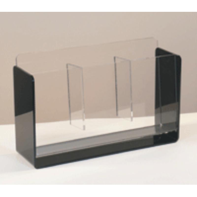 BRA 15 Masa üstü 3x1/3 A4 pleksi broşürlük
