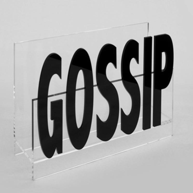 MGZ 13 gossip pleksi dergi ve gazetelik