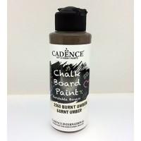 Burnt umber 120 ml kara tahta boyası