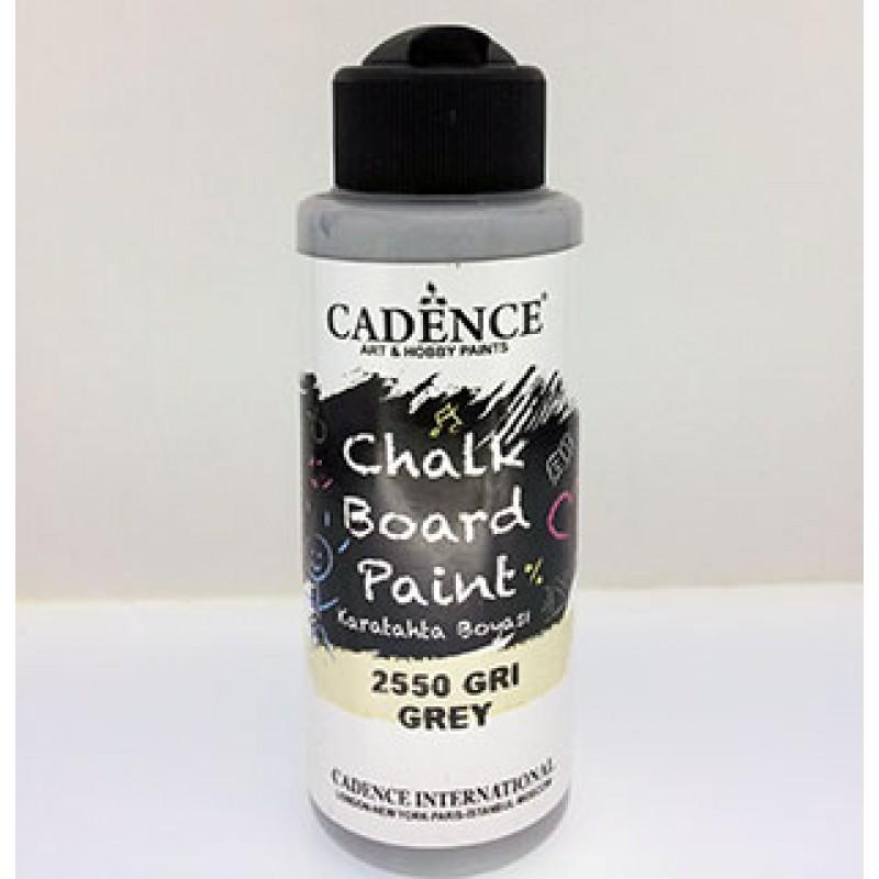 Gri 120 ml kara tahta boyası