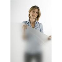 Beyaz buzlu cam folyosu - 100x123 cm..