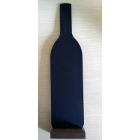 KRT 501 Şişe formlu karatahta pano (30x9x5 cm)..