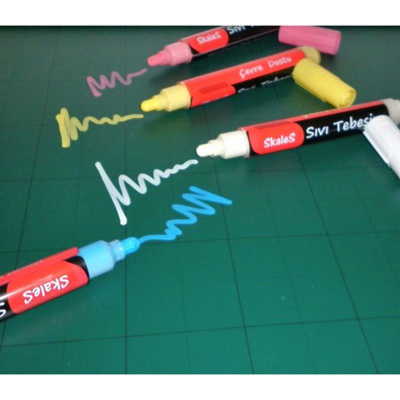KTR BY Beyaz sıvı tebeşir mürekkebi (100ml)