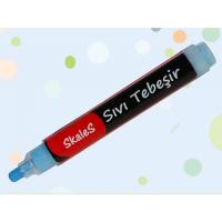 KTK MV sıvı tebeşir kalemi (Mavi)..
