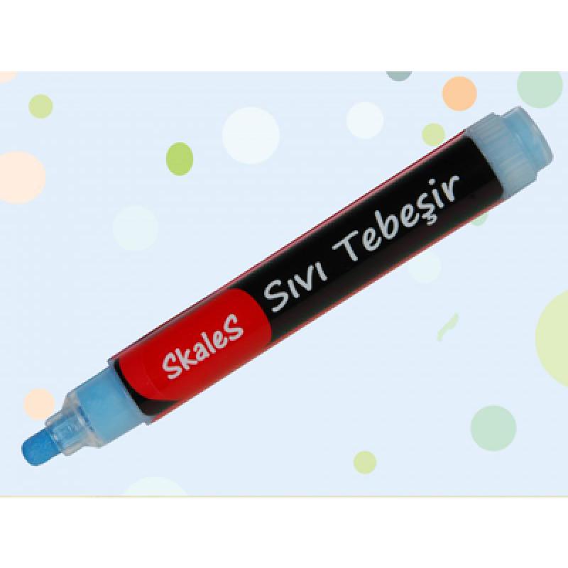 KTK MV sıvı tebeşir kalemi (Mavi)