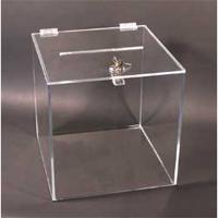 PKDK 014 Pleksi kilitli form kutusu (30x30x30 cm)..