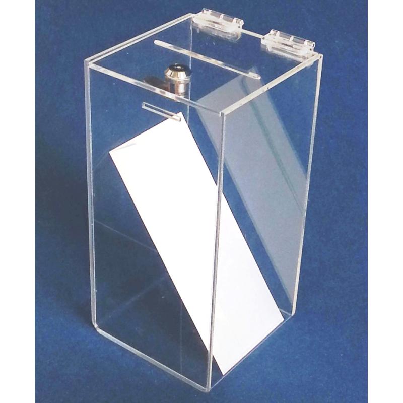 PKDK 015 Pleksi kilitli form kutusu (30x15x15 cm)