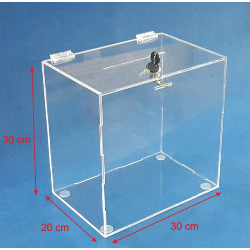 PKDK 016 Pleksi kutu (30x30x20 cm)