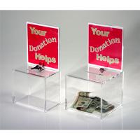 PYFK 0004 Föylüklü Pleksi Yardımlaşma Kutusu (15x27x13 cm)