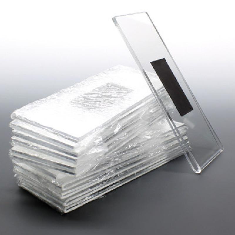 FEM UM (5,5x10,5 cm ) dikey mıknatıslı pleksi föylük