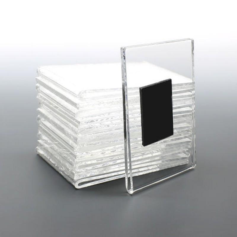 FEM5 UM (10,5x21,5 cm ) dikey mıknatıslı pleksi föylük