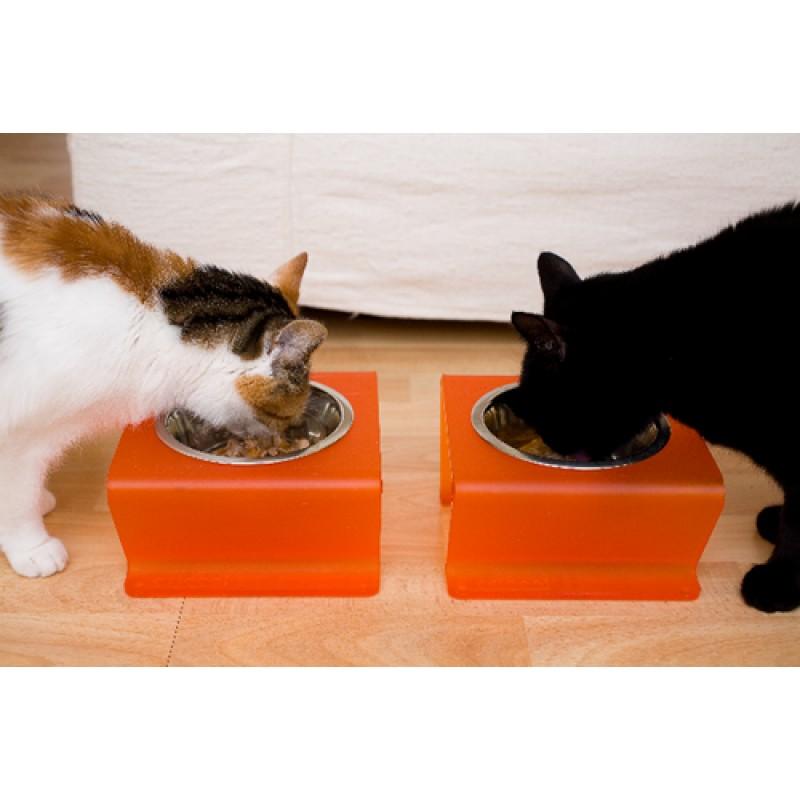 PET A001 Kedi köpek tek kaseli küçük mama kabı