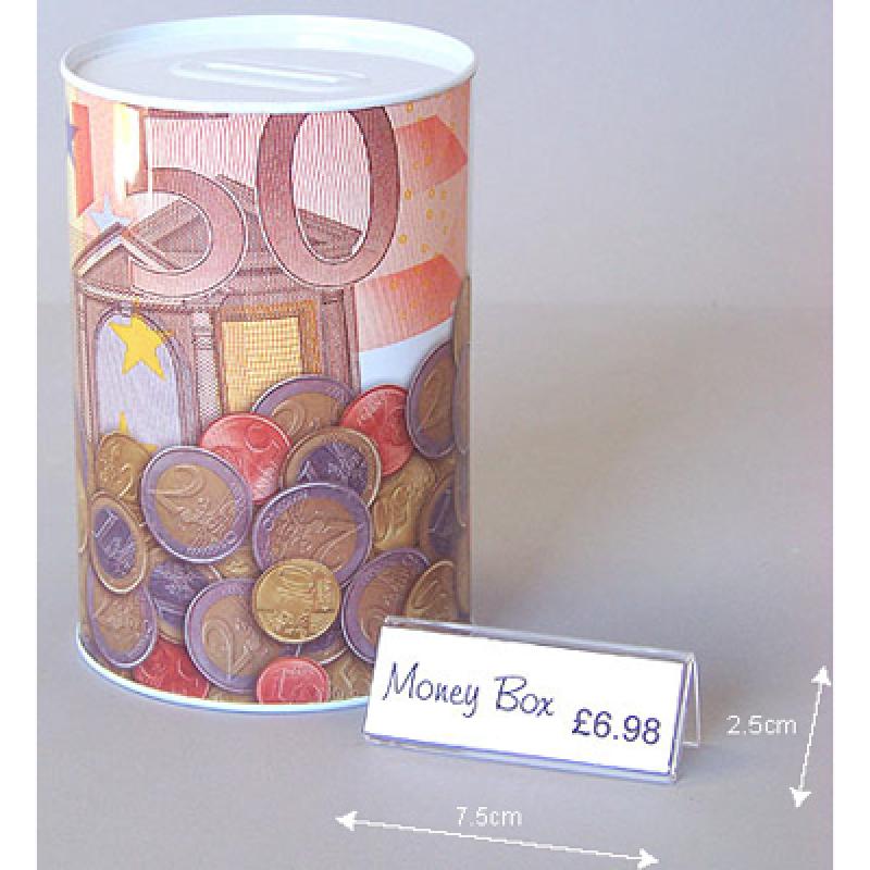 Mini LY (7,5 x 2,5 cm) yatay pleksi föylük fiyatlık