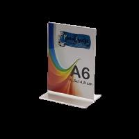 A6 T Tipi Masa Üstü Dikey Föylük (10,5 x 15 cm)..