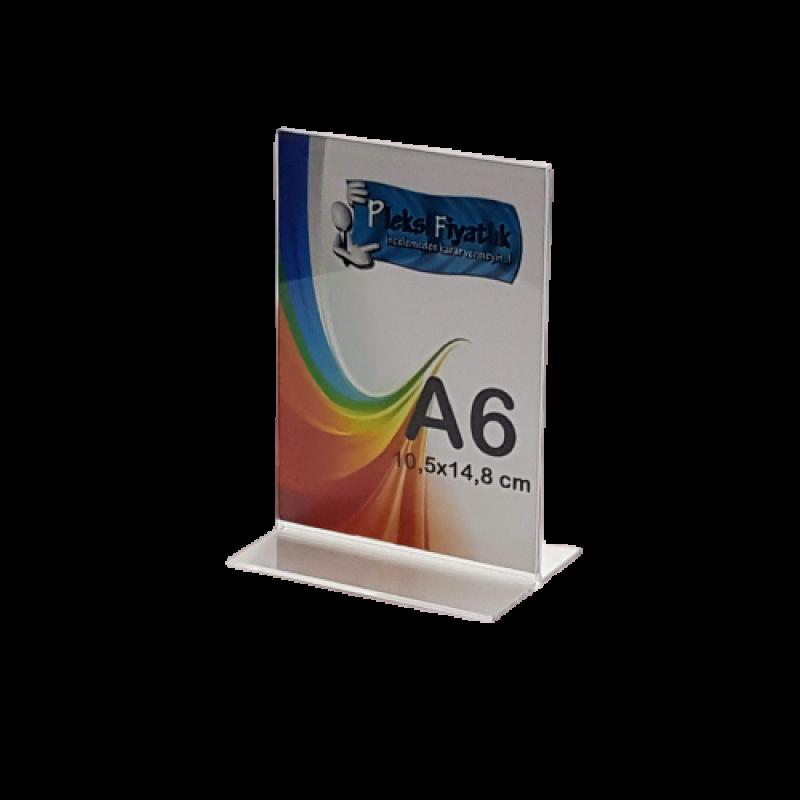 A6 T Tipi Masa Üstü Dikey Föylük (10,5 x 15 cm)