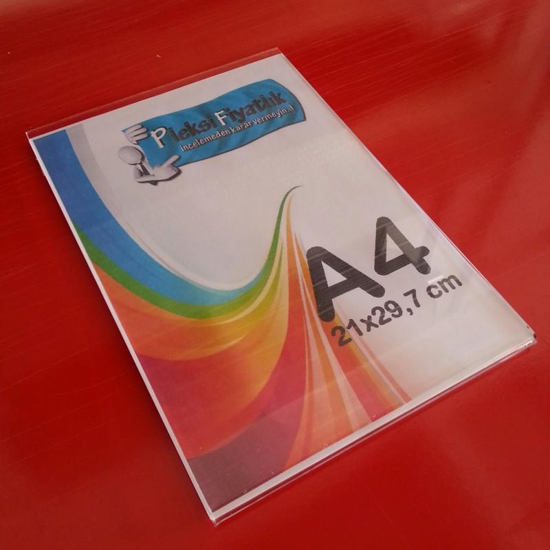 A4 U Tipi çift taraf bantlı Dikey Föylük (21 x 30 cm)