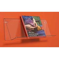 RFE3 842 pleksi vida montajlı kitap ve dergi raf..