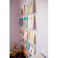 Pleksi Duvar Rafı Çocuk Odası Kitap Rafı (55 x 8 x..