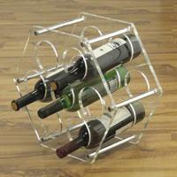 SRP 05 Altıgen pleksi şaraplık..