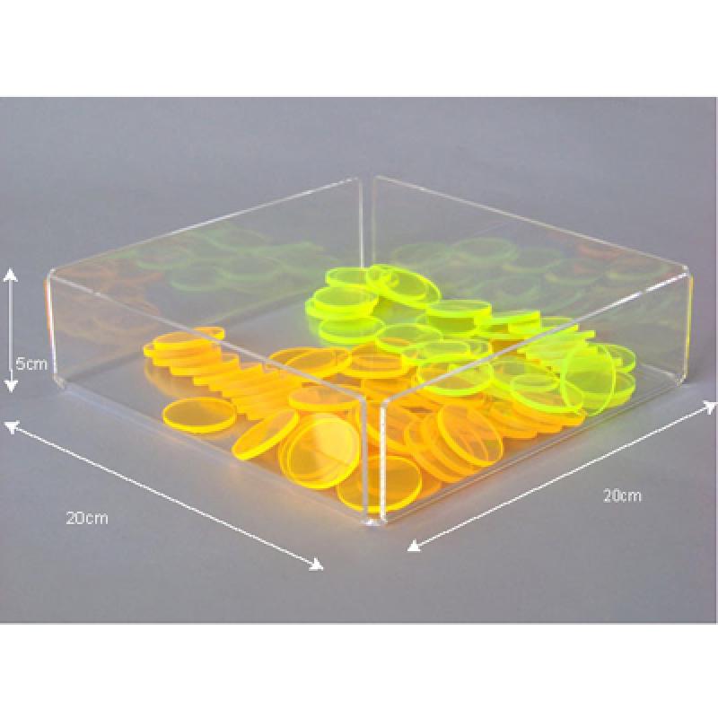 PKT 205 (20x20x5 cm) pleksi organizer kutu