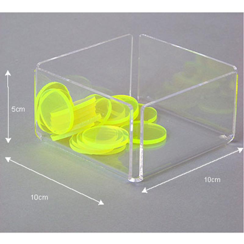 PKT 105 (10x10x5 cm) pleksi organizer kutu